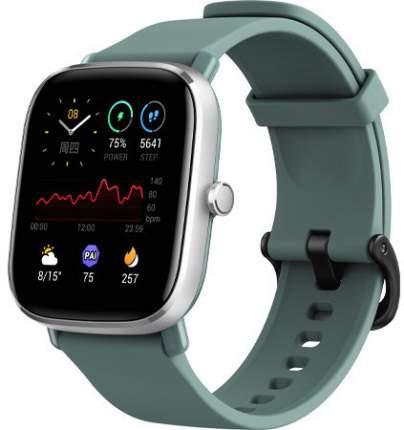 Смарт-часы Amazfit GTS 2 Mini (A2018) Silver/Green