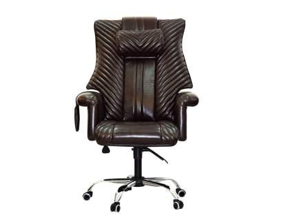 Офисное массажное кресло EGO President EG1005 КОФЕ (Арпатек)