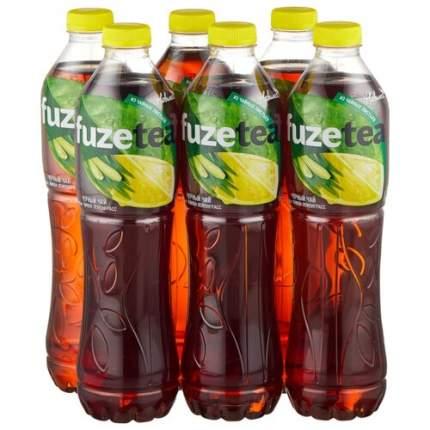 Напиток Fuzetea  Чай черный Лимон-Лемонграсс 1.5л, уп 6 шт.