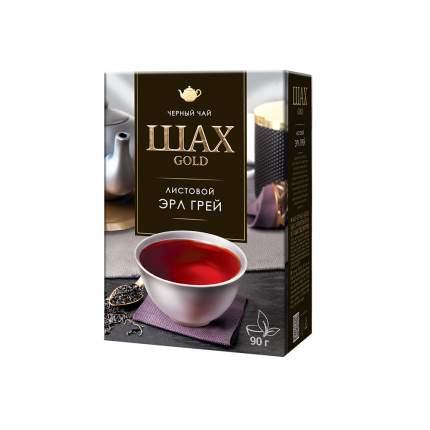 Чай черный листовой Шах Gold Эрл Грей 90 г