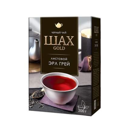 Чай черный листовой Шах Gold Эрл Грей 200 г