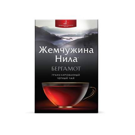 Чай черный листовой Жемчужина Нила Бергамот 210 г