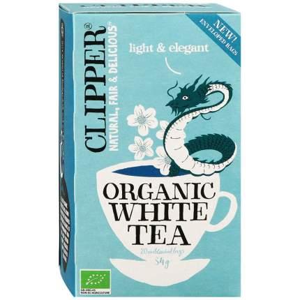 Чай CLIPPER  белый органический 34г 20пак  упак 4шт