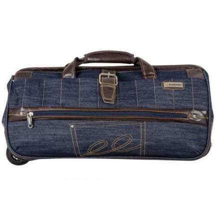 Дорожная сумка Монкинг джинса 25 x 57 x 29 см