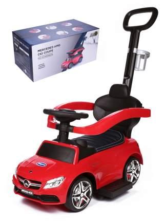 Babycare, Каталка детская Mercedes-Benz AMG C63 Coupe (кожаное сиденье, резиновые колеса)