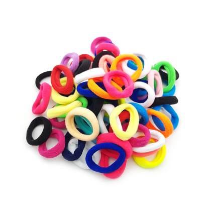 Комплект резинок для волос для девочки 70 шт. разноцветный