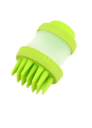 Зубная щетка для собак Markethot Cleaning Device The Gentle Dog Washer, зеленый, 11.5 см