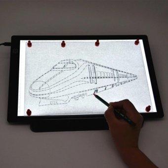 Световой планшет ArtPinOk 113224 А4 Профи М18 на магнитной панели