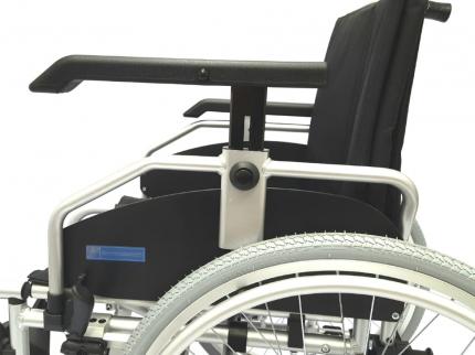 Кресло-коляска инвалидная LY-710 шир.сид. 35см спинка рег.от 95 до 170 град.