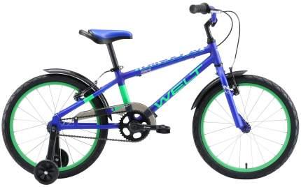 Велосипед Welt Dingo 20 2020 Dark Blue/Green