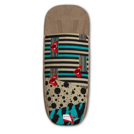 Накидка для ног для коляски Cybex priam III fe karolina kurkova one love