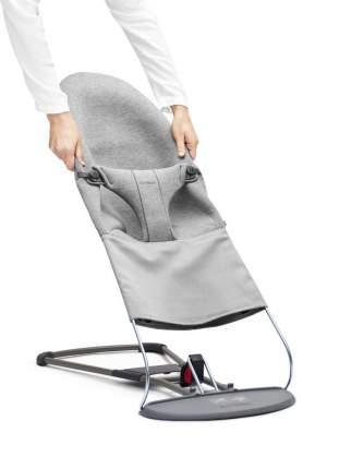 Сменный чехол для кресла-шезлонга Babybjorn jersey светло-серый