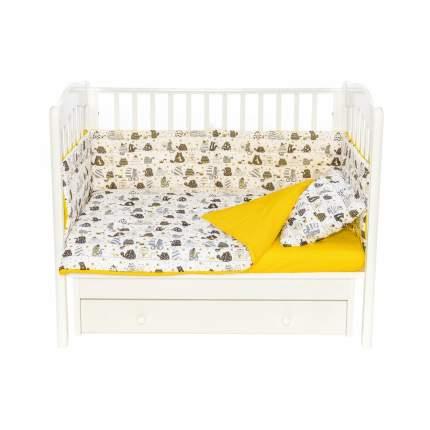 Бортики для детской кроватки БК-ББ-002/30 Дневные коты