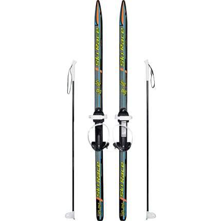 Лыжный комплект (лыжи+палки+крепления) подростковые SKI RACE, 140/105