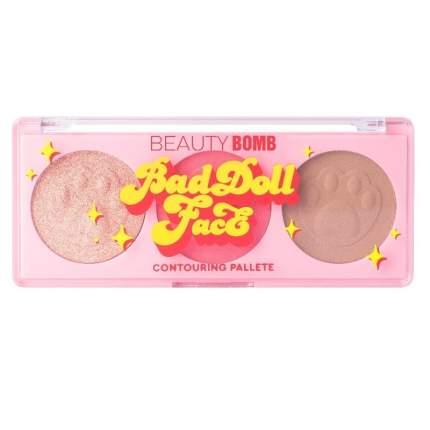 Палетка для контуринга Beauty Bomb Bad doll face, тон 01