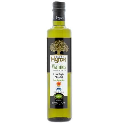 Масло оливковое Cretan Myron Extra Virgin Olive Oil PDO Viannos, нерафинированное, 500 мл