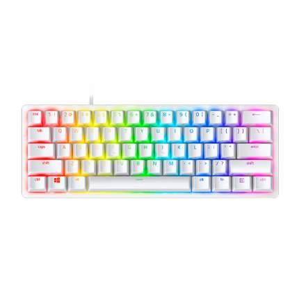 Клавиатура Razer Huntsman Mini (Linear Optical Switch) Mercury White (RZ03-03390400-R3M1)