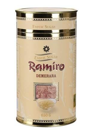Сахар тростниковый Ramiro Демерара песок нерафинированный, 650 гр.