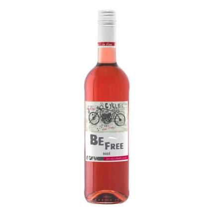 Вино безалкогольное Be free Rose сладкое розовое Германия 0,75 л