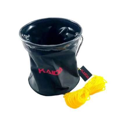 Ведро для воды и прикормки (складное) Kaida  5 л