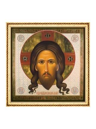 """Икона """"Спас Нерукотворный"""" в раме и подарочной упаковке 28х28 Духовный наставник"""
