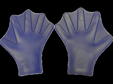 Перчатки для плавания подростковые Sprinter Лягушачьи лапки D6315 синие