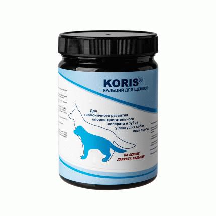 Пищевая добавка для собак Koris, кальций для щенков (440 таб.)