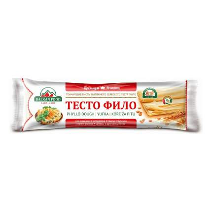 Тесто Balkan Food Фило замороженное 450 г
