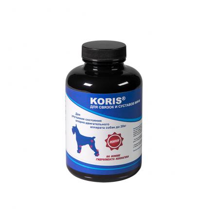 Пищевая добавка для собак Koris, для связок и суставов - мини, до 20 кг. (250 таблеток)