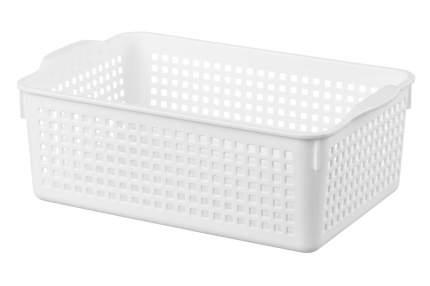Корзинка Лофт, белый, 29,5x18,5x10,5 см, 3,8 литра