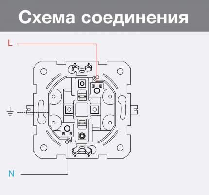 Розетка 2гн белая с/з Carmen VI-KO