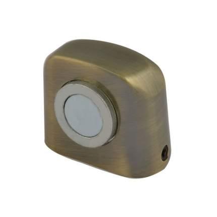 Ограничитель двери НОРА-М 802 магнитный, напольный - Старая бронза