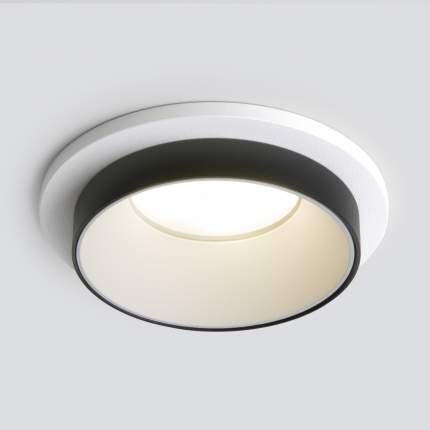 Потолочный акцентный светильник Elektrostandard 113 MR16 белый/черный