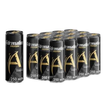 Энергетический напиток Adrenaline Rush  0,25л*12