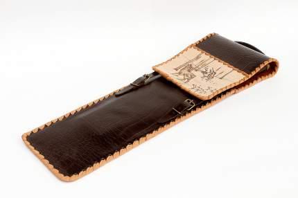 Чехол кожаный для шампуров 238367 450 мм коричневый
