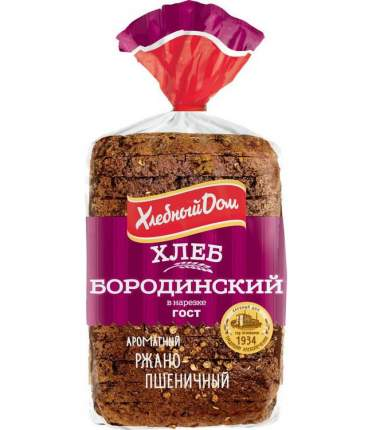 Хлеб бородинский нар.400г хд