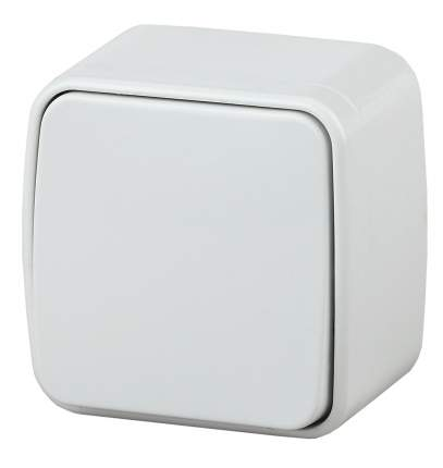 Выключатель Intro Polo 3-101-01 белый