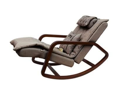 Массажное кресло-качалка OTO Grand Life OT2007 ШОКОЛАД (Рогожка)