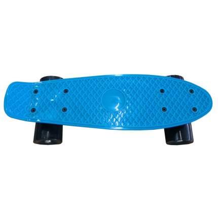 Детский скейтборд Наша Игрушка 41*12 см, с большими PVC колесами, без света 636247