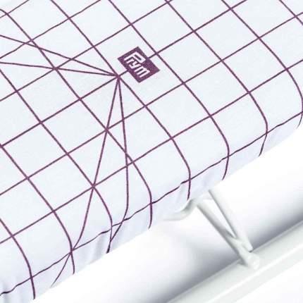 Доска для глажки рукавов 52x12,5 см, серебристый/бежевый, шкала - фиолетовая