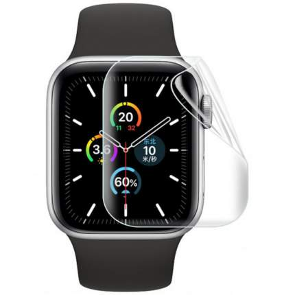 Гидрогелевая защитная плёнка Rock для Apple Watch 5 (44 мм) 2 шт (Прозрачная)