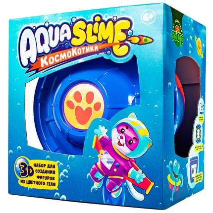 Наборы для создания слаймов Slime Aqua, КосмоКотитки, большой AQ002