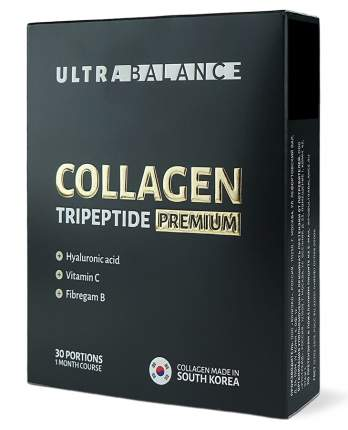 Коллаген порошок I типа UltraBalance для суставов, связок, кожи, волос 30 порций