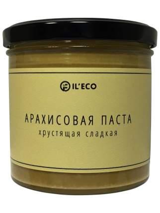 Арахисовая паста IL'ECO хрустящая сладкая, без сахара (300 гр.)