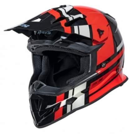 Кроссовый мотошлем IXS Motocross Helmet iXS361 2.3 X12038 032 Black-red-grey XL