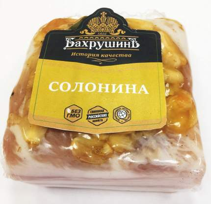 Солонина Бахрушинъ свиная 1 кг