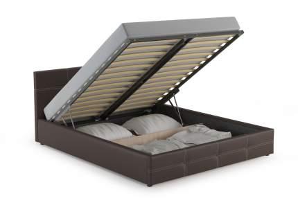 Кровать интерьерная НИК Синди ПМ Марика 468 (шоколад), 170х215х85 см