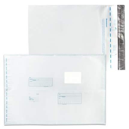Конверт-пакеты полиэтиленовые 360х500 мм до 500 л Куда-Кому отрывная полоса 10 шт 11007.10