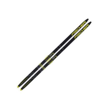 Беговые лыжи Fischer Rcs Skate Jr IFP 2021, черно-желтые, 151 см
