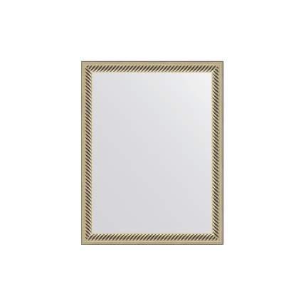 Зеркало в раме EVOFORM витое серебро